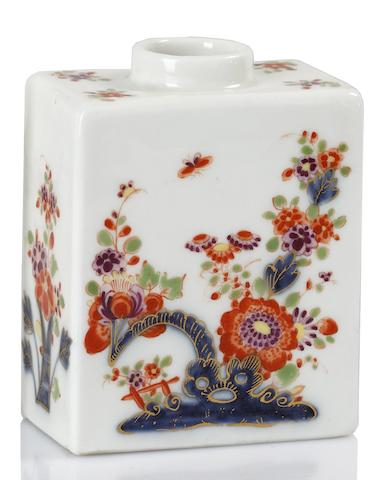 A Meissen canister, circa 1735
