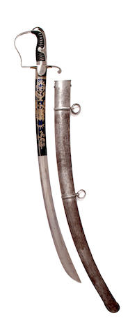 A 1796 Pattern Light Cavalry Officer's Sabre