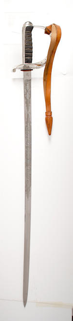 An 1821 Pattern Heavy Cavalry Officer's Sword