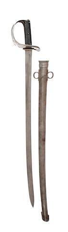An 1890 Pattern Cavalry Trooper's Sword