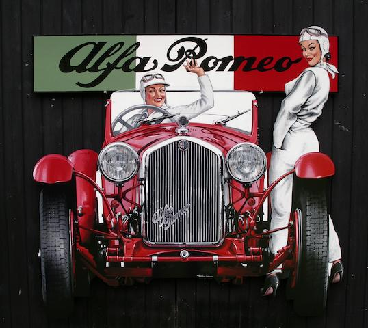 Tony Upson, 'The George Daniels 1932 Alfa Romeo 8C-2300',