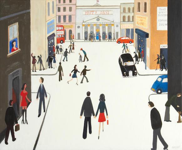 Robert Hardy (British, born 1952) Theatreland