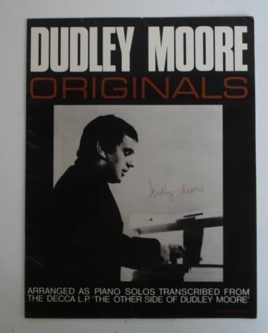 Peter Cook & Dudley Moore: A collection of records, including several signed by Moore, titles including: 17
