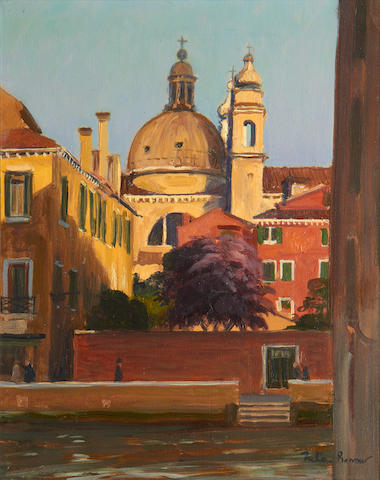 Julian Barrow (British, born 1939) San Gesuati, Venice
