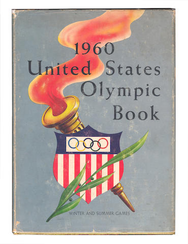 Official Reports Arthur G. Lentz. United States 1960 Olympic Book. Quadrennial Report of the United States Olympic Committee. Games of the XVII Olympiad Rome, Italy, VIII Olympic Winter Games, III Pan American Games; and 6 others (7)