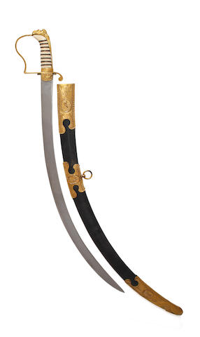 A Georgian Naval Officer's Sabre