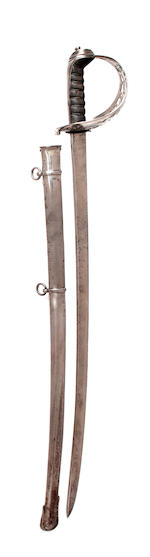 An 1821 Pattern Cavalry Officer's Sword