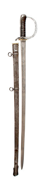 A Regimental 1821 Pattern Heavy Cavalry Officer's Sword of the 1st Royal Dragoons