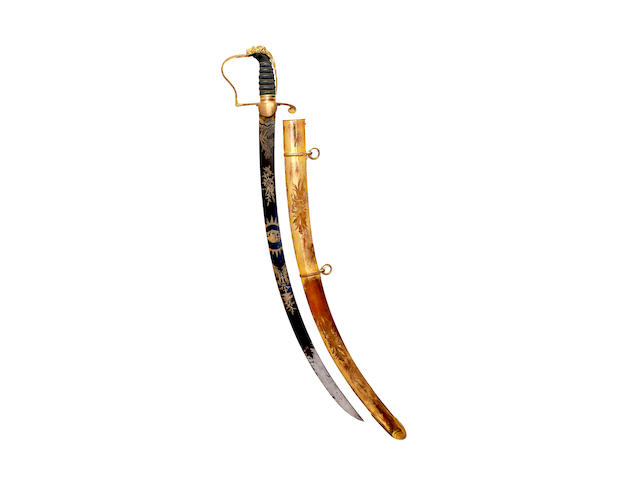 A Georgian Infantry Officer's Sabre