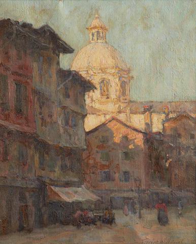 Terrick John Williams, RA (British, 1860-1936) The Marble Dome, Como