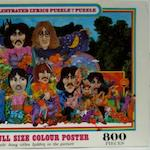 'The Beatles Illustrated Lyrics' jiqsaw puzzle,