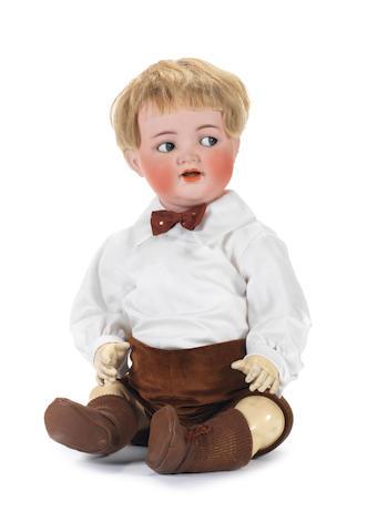Simon & Halbig 126 bisque head character baby