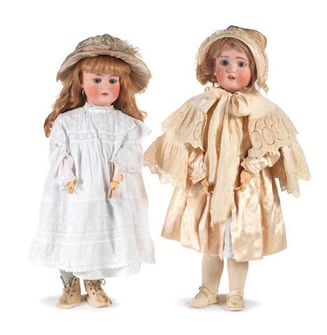 Heubach Kopplesdorf bisque head doll