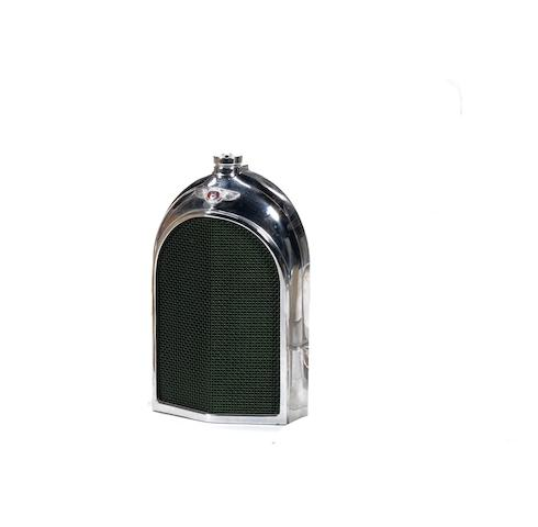 A Bentley radiator decanter by Classic Stable Ltd,