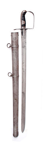 A 1796 Pattern Heavy Cavalry Officer's Sword