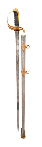 A Good Victorian Officer's Presentation Sword