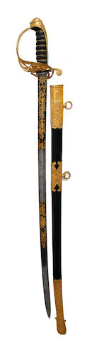 A Good 1845 Pattern Infantry Officer's Presentation Sword