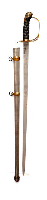An 1834 Pattern 2nd Lifeguard's Officer's Full Dress Sword