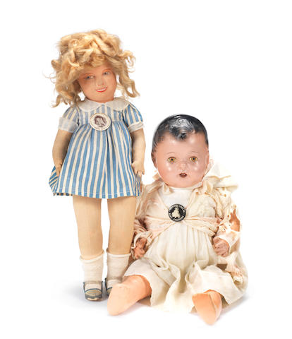 Shirley Temple cloth doll 2