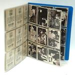 Beatles gum cards, two series, US, 1960s,
