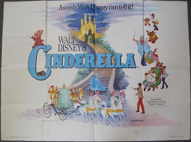 Walt Disney: A collection of Children's and Action posters, titles including: 5