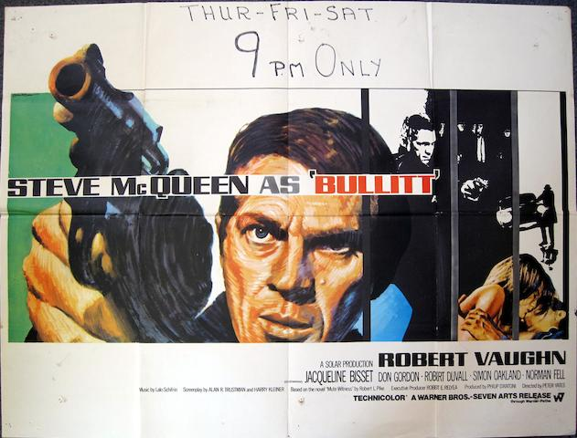 Bullitt, Warner Bros./ Seven Arts, 1969,