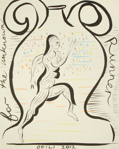 Chris Ofili - Official Poster