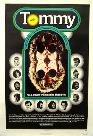 A 'Tommy' film poster, Columbia, 1975,