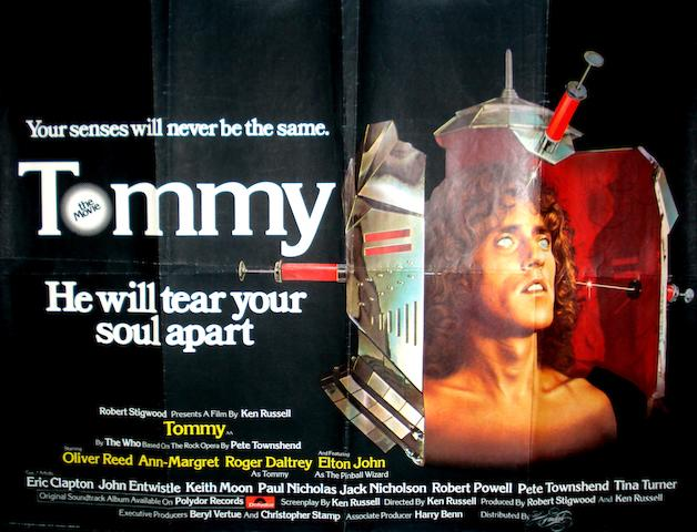 Two 'Tommy' film posters,  1975,