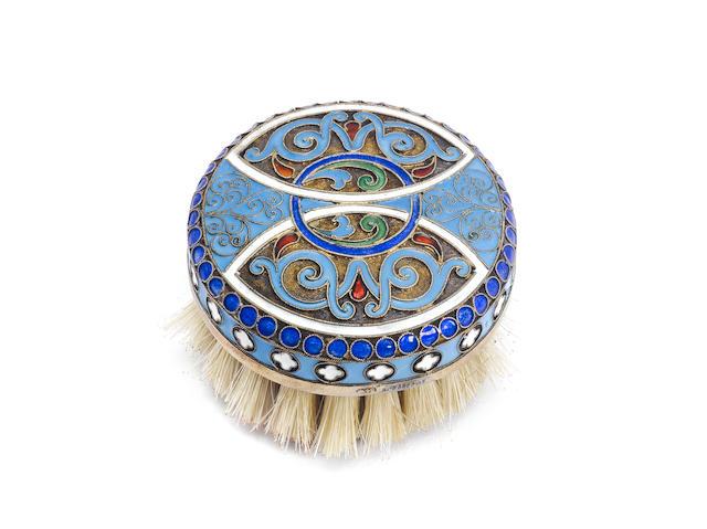 Cloissone enamel brush