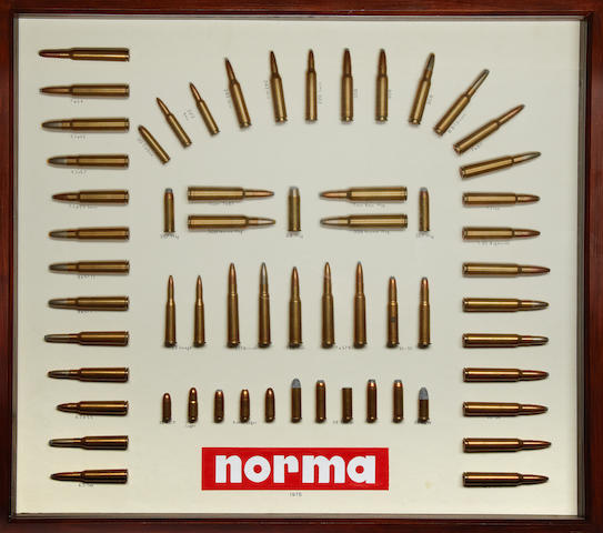 Two Norma cartridge-display boards