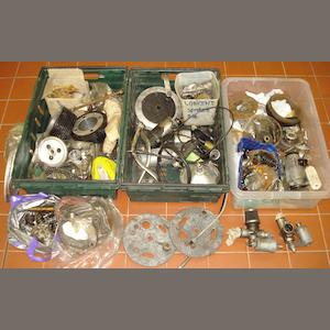 A quantity of assorted Vincent spares,
