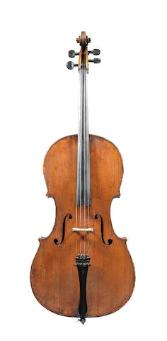 A French Cello by Joseph Hel, Lille, 1888 (2)