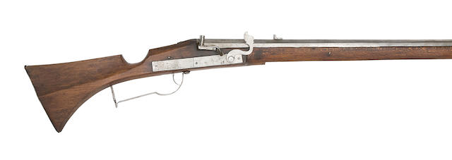 A Continental 11-Bore Military Matchlock Musket