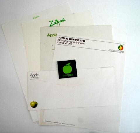 A group of Apple stationery, various dates,