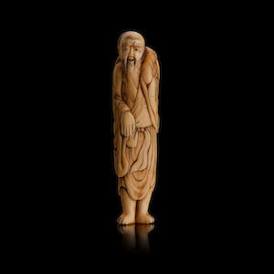 An ivory netsuke 18th/19th century
