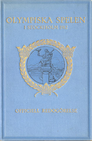 Official Report Stadion-Program Onsdagen den 10 Juli, Centraltryckeriet, Stockholm, 1912
