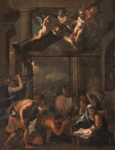 After Nicolas Poussin The Adoration of the Shepherds
