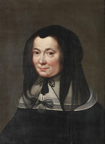Circle of Jacob van Oost I (Bruges 1601-1671) Portrait of a lady, bust-length