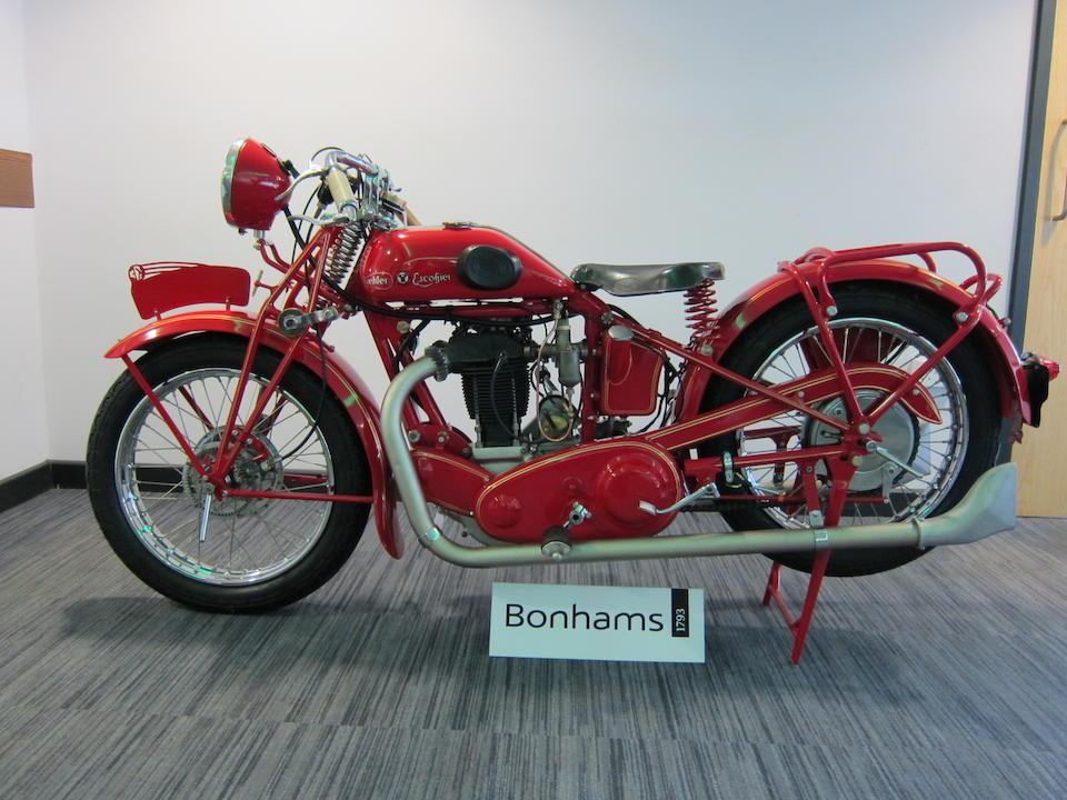 1929 Koehler-Escoffier 500cc Frame no. 44875 Engine no. 3674