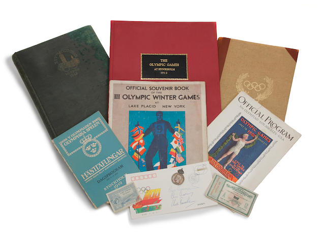 A Collection of Olympic and Athletic Ephemera