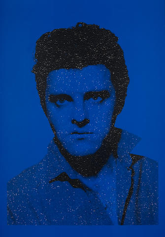 Gavin Turk (British, born 1967) Jackie Blue Elvis Screenprint in colours with diamond dust, 2004, on Somerset Satin, signed, titled and numbered on the verso in pencil, published by Paul Stolper, the full sheet printed to the edges, 1000 x 700mm (39 3/8 x  27 1/2in)(SH)