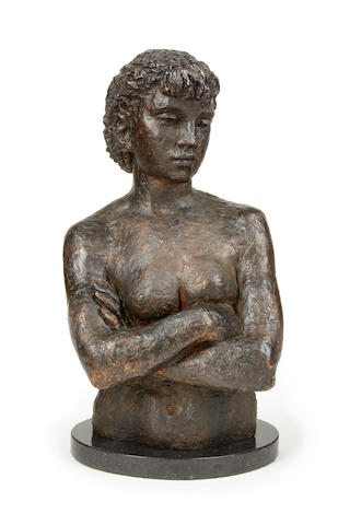 k Jonzen - female bust