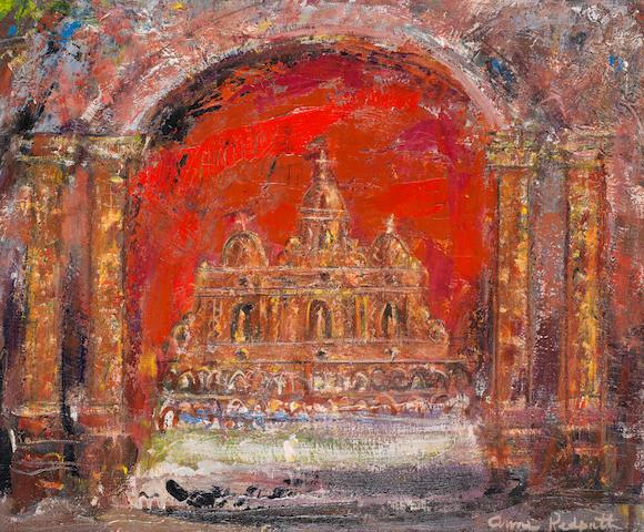 Anne Redpath, OBE RSA ARA LLD ARWS ROI RBA (British, 1895-1965) In a church in St. Paul 50.2 x 61 cm. (19 3/4 x 24 in.)