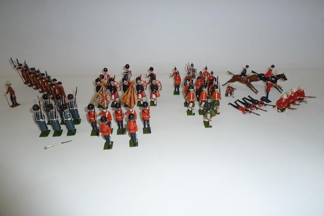 Britains set 460, Colour Party of the Scots Guards 58