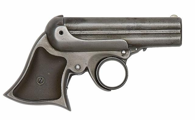 A .32 Remington-Elliot Four-Shot Rim-Fire Deringer