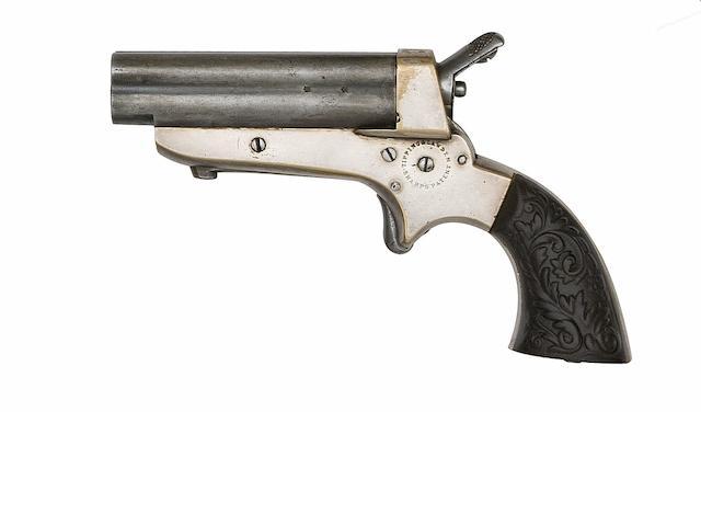 A .32 Tipping & Lawden Sharps' Patent Four-Shot Rim-Fire Deringer