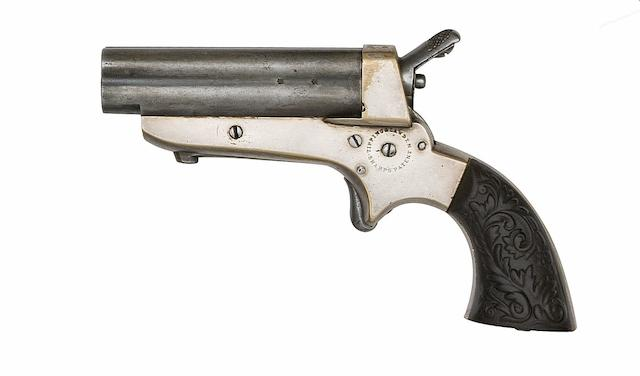 A .32 Tipping & Lawden Sharps' Patent Four-Shot Rim-Fire Deringer