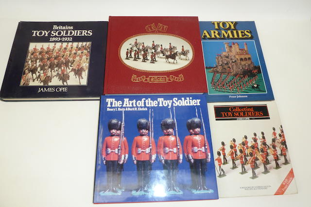 Books on Toy Soldiers and other Toys 24 books