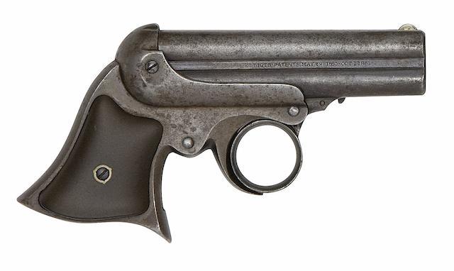 A .32 Remington-Elliot Four-Shot Rim-Fire Deringer